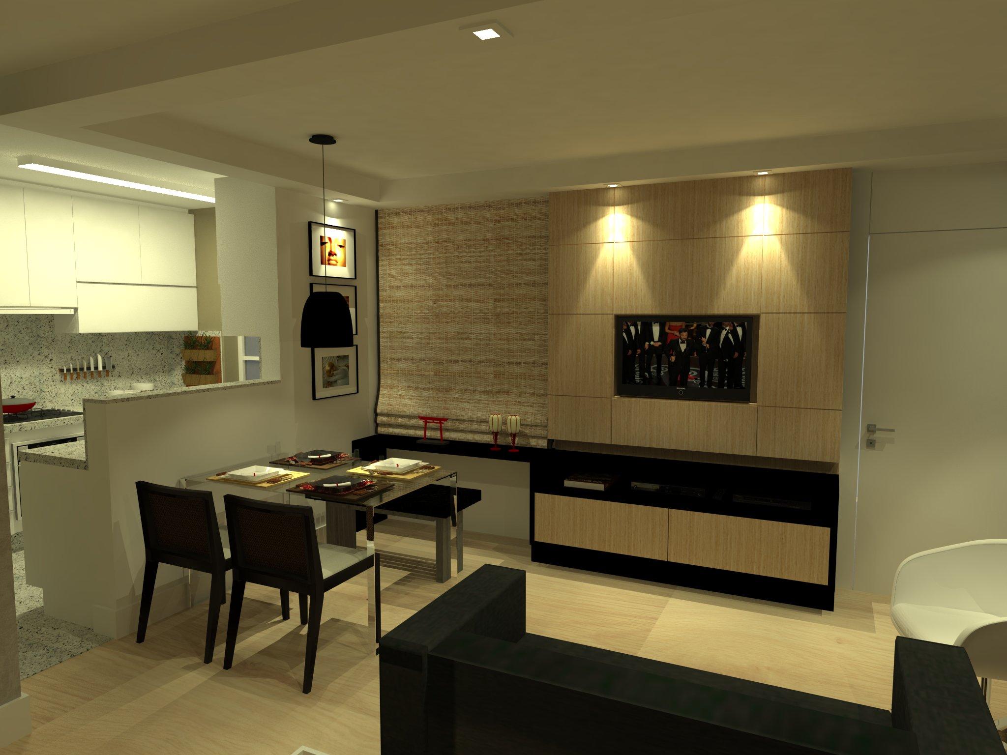 decoração de cozinha e area de serviço pequena #BBB710 2048 1536